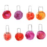 Vector bottles of nail polish
