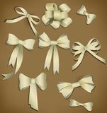 Vector bow collection. Stock Photography