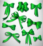 Vector bow collection. Stock Images