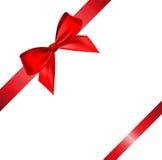 Vector bow and ribbon Royalty Free Stock Image
