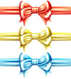 Vector bow set Royalty Free Stock Photo