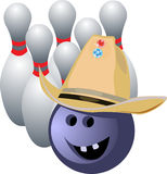 Vector bowling Royalty Free Stock Photography