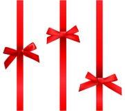 Vector bows Royalty Free Stock Image