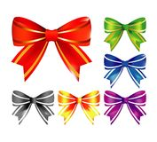 Vector bows Stock Image