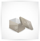 Vector box. Abstract stylized box, vector illustration Royalty Free Stock Image
