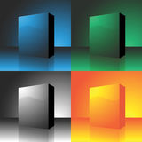Vector box package Royalty Free Stock Images