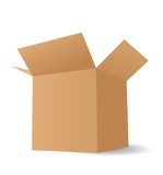 Vector boxes Stock Photos