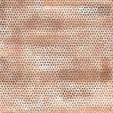 Vector braunes nahtloses gebrochenes Fliesenmuster für Ihr Stockfotos