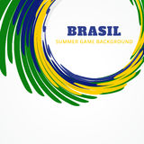 Vector brazil design Royalty Free Stock Image