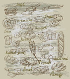 Vector bread Royalty Free Stock Photo