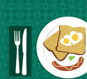 Vector Breakfast Stock Photos