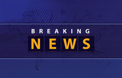 Vector Breaking News background Concept Series Royalty Free Stock Photos