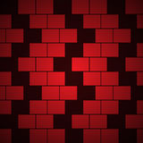 Vector brick background Royalty Free Stock Images