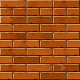Vector Brick Wall Background Texture Pattern Stock Photo