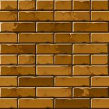 Vector Brick Wall Background Texture Pattern Stock Photography