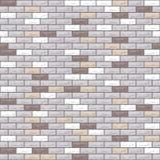 Vector brick wall dark grey vector illustration