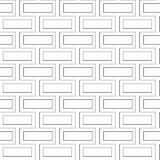 Vector brick wall seamless pattern Royalty Free Stock Photo