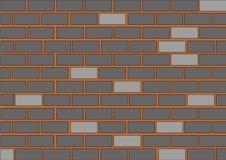 Vector brick wall Royalty Free Stock Photography