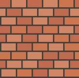 Vector brick wall tile seamless pattern Stock Photos