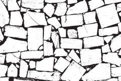 Vector Bricks and Stones Texture Stock Photo