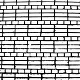 Vector Bricks and Stones Texture. Abstract background, old brick wall. Overlay illustration over any design to create grungy vintage effect and depth. For Stock Image