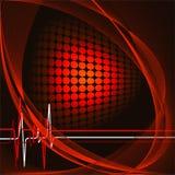 Vector bright backdrop. Vector modern backdrop for medical treatment company Royalty Free Stock Photos