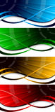 Vector bright banners Royalty Free Stock Photo