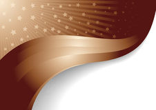 Vector bright chocolate background stock images