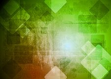 Vector bright design. Grunge background Stock Images