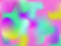 Vector bright holographic abstract background Royalty Free Stock Image