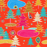 Vector bright seamless pattern Royalty Free Stock Image