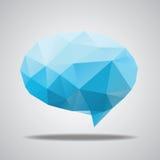 Vector bright speech cloud and blobs Stock Photos