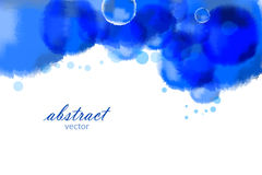 Vector bright watercolor background Royalty Free Stock Images