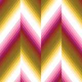 Vector bright zigzag pattern Royalty Free Stock Photos