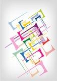 Vector brillante abstracto del fondo Imagen de archivo libre de regalías