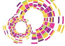 Vector brillante abstracto del fondo del mosaico Foto de archivo libre de regalías