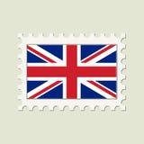 Vector Britse Vlag royalty-vrije illustratie