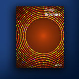 Vector brochure / booklet cover design templates Stock Images