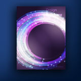 Vector brochure  booklet cover design templates Royalty Free Stock Photography