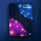Vector brochure   booklet cover design templates Royalty Free Stock Image