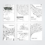 Vector brochure cover design templates with Royalty Free Stock Images