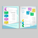 Vector Brochure Flyer design Layout template Stock Photography