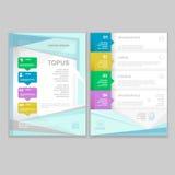 Vector Brochure Flyer design Layout template Stock Image
