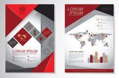 Vector Brochure Flyer design Layout template.infographic. Vector Brochure Flyer design Layout Stock Photo