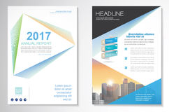Vector Brochure Flyer design Layout template, size A4, Front page and back page, infographics. Easy to use and edit. Size A4, Front page and back page Stock Photography