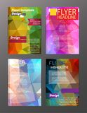 Vector Brochure Flyer Design Layout Templates. Abstract. Eps.10 vector illustration