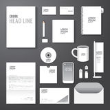 Vector brochure, flyer, magazine cover booklet poster design template Stock Photography