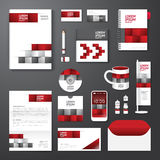 Vector brochure, flyer, magazine cover booklet poster design template Stock Image