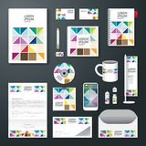 Vector brochure, flyer, magazine cover booklet poster design template Royalty Free Stock Image