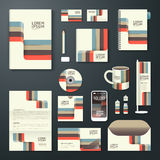 Vector brochure, flyer, magazine cover booklet poster design. Royalty Free Stock Photos